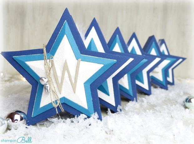 Sternschachtel Weihnachten Details