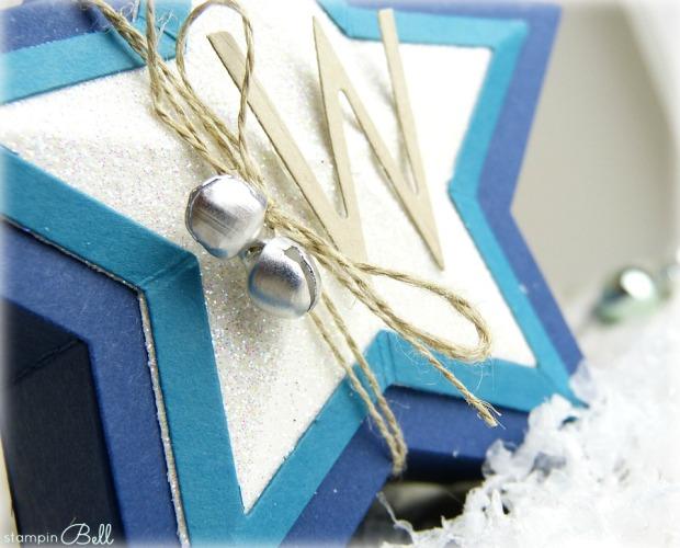 Sternschachteln Weihnachten Details 1