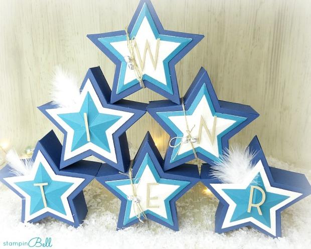 Sternschachteln Weihnachten