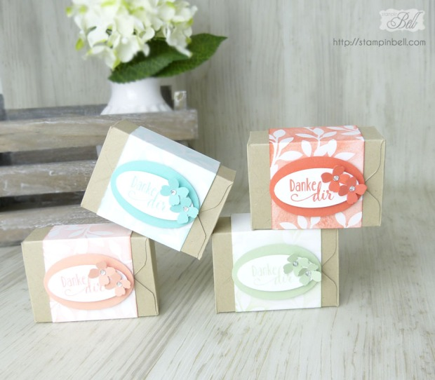 Verpackung Brownies Envelope Punch Board