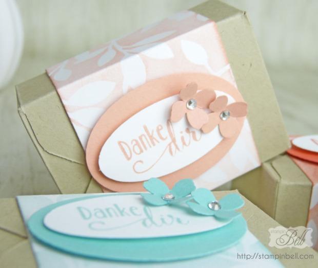 Verpackung Brownies Envelope Punch Board_Detail