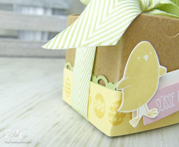 Geschenkschachtel Ostern Ei, ei, ei! Safrangelb