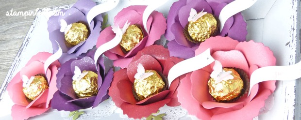 Bigz Bouquet Blume mit Rocher Stampin Up