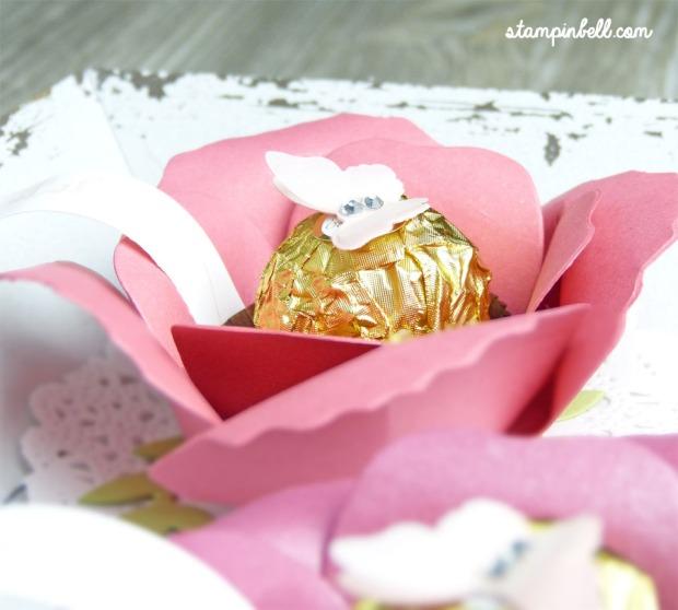 Bigz Bouquet Blume mit Rocher