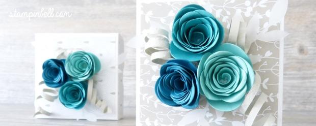 Geburtstagskuchenbausatz Stampin´ Up! Mitbringsel Geburtstag Kleinigkeit Trau Dich Spiralblume