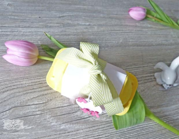 Geschenkidee Ostern Stampin´ Up! Ei, ei, ei Kinder Überraschung