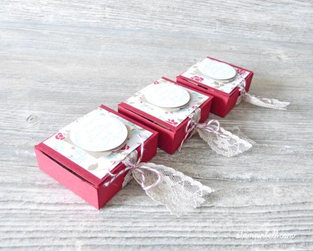 Goodie Verpackung Küsschen Mon Cherie Schachtel Box