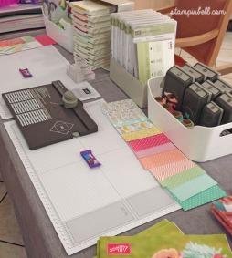 Markt Hobbykünstlermarkt Kunsthandwerkermarkt Stampin Up Workshop
