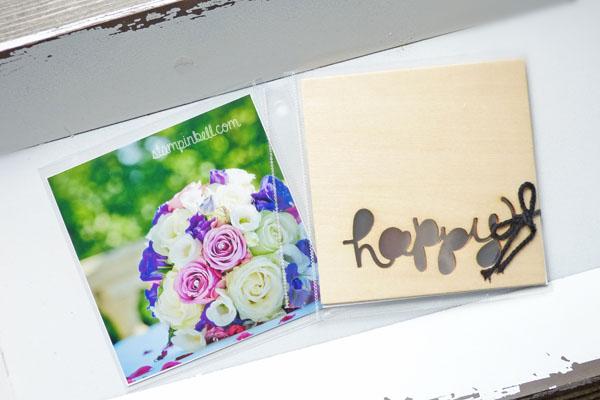 Projektset Deine Welt Hochzeitsalbum DIY Stampin Up! Album Fotoalbum Hochzeit