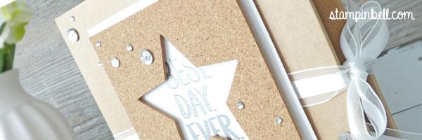 Projektset Deine Welt Hochzeitsalbum DIY Stampin Up!  Best Day Ever
