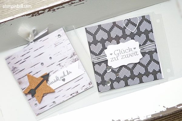 Projektset Deine Welt Hochzeitsalbum DIY Stampin Up!  Geschenk deiner Wahl