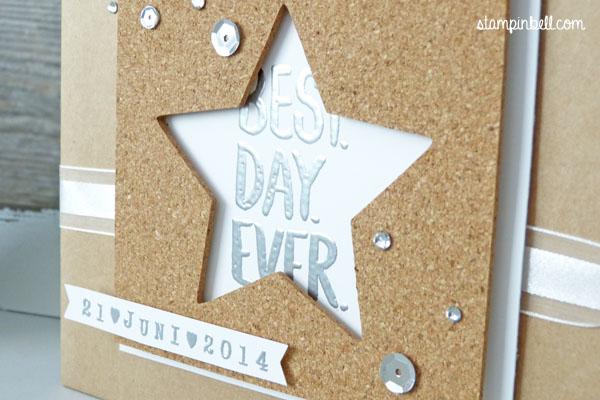 Projektset Deine Welt Hochzeitsalbum DIY Stampin Up! Stampinbell