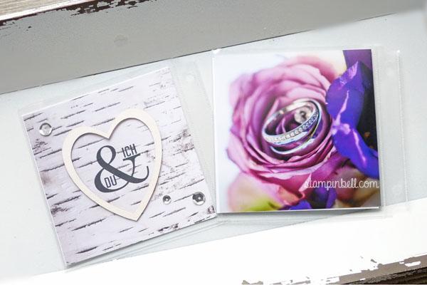Projektset Deine Welt Hochzeitsalbum DIY Stampin Up! Wimpeleien