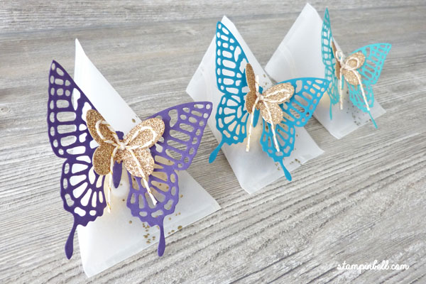 Sour Cream Box Verpackung Schmetterlinge Thinlits
