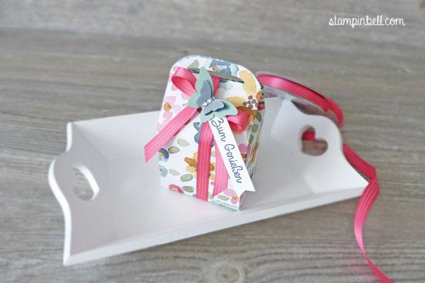 Leckereien-Box Stampin´ Up! Englischer Garten Schmetterling