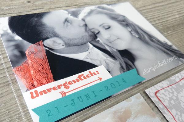 Project Life Album 6%22 x 8%22 Stampin´ Up! Memoriekeeping Unvergesslich Kartenkollektion Liebesgeschichte Hochzeitsalbum DIY selbstgemacht Hochzeit