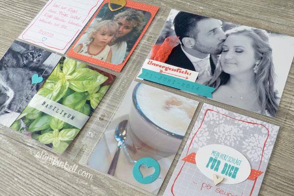 Project Life Album 6%22 x 8%22 Stampin´ Up! Memoriekeeping Unvergesslich Kartenkollektion Liebesgeschichte Melonensorbet