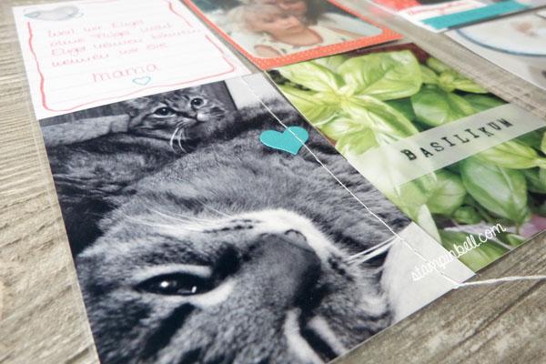 Project Life Album 6%22 x 8%22 Stampin´ Up! Memoriekeeping Unvergesslich Kartenkollektion Liebesgeschichte Nähmaschine