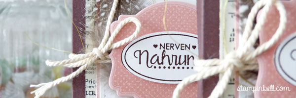 Schachtel Verpackung Yogurette Kinder Schokolade Ach, du meine Grüße!  Lawn Fawn