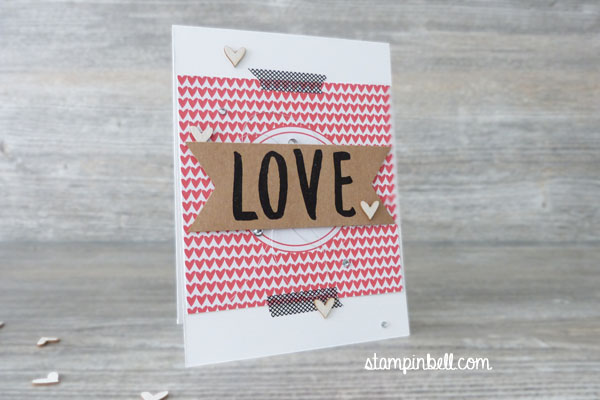 Karte Momente wie diese Layered Letters Alphabet Stampin´ Up!