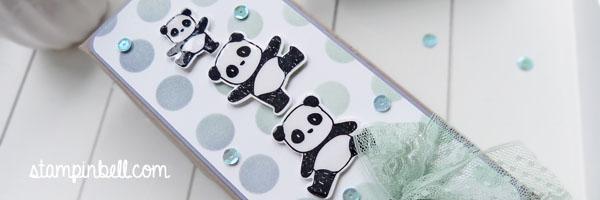 Milka Schokoladentafel Verpackung Stampin´ Up! Mama Elephant Blauregen Minzmakrone