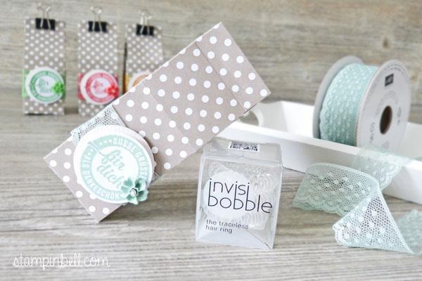 Mini Milchkarton Stampin´ Up! In Color Süße Stückchen Invisi Bobble Blütenakzente