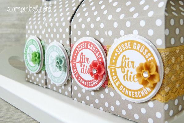 Mini Milchkarton Stampin´ Up! In Color Süße Stückchen