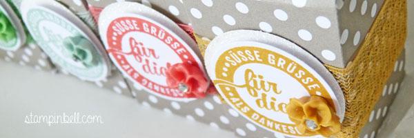 Mini Milchkarton Stampin´ Up! Süße Stückchen