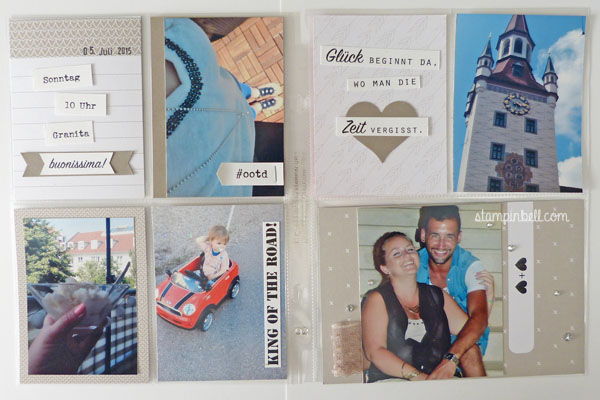 Project Life by Stampin´ Up! Stampinbell Becky Higgins Momente wie diese Moments like this