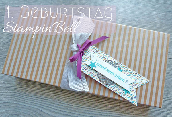 1. Geburtstag Stampinbell Stampin´ Up!