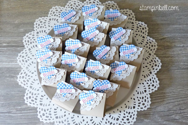 Wiesn Goodies Mitbringsel Raffaello Stampin´ Up!