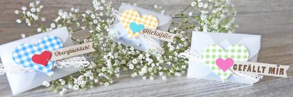 Goodies Wiesn Oktoberfest Envelope Punch Board Stanz und Falzbrett für Umschläge Lindt Mini Schokotafeln