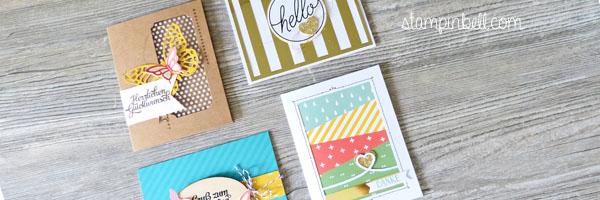 Projektset Grußelemente Stampin´ Up! Cardset