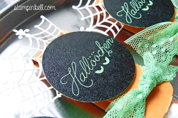 Halloween Zwischen den Zweigen Stampin´ Up! Goodie Verpackung Candy Bar