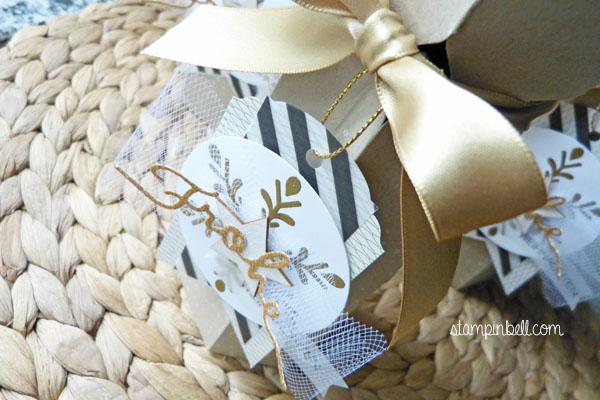 Piccolo Verpackung Stampin Up! Winterliche Weihnachtsgrüße Zauberwald