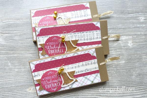 Ziehverpackung Lindt Zwischen den Zweigen Schokoladenverpackung Fröhliche Feiertage Weihnachten